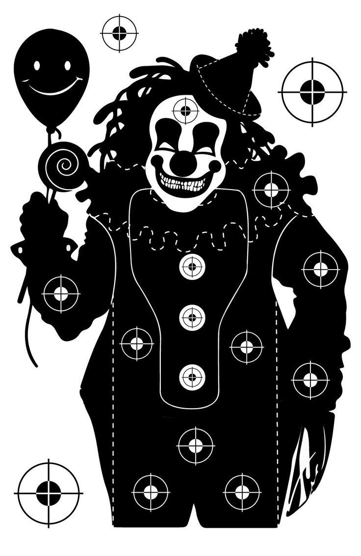 Clown Shooting Target at PhotosAndFun.com                                                                                                                                                                                 More