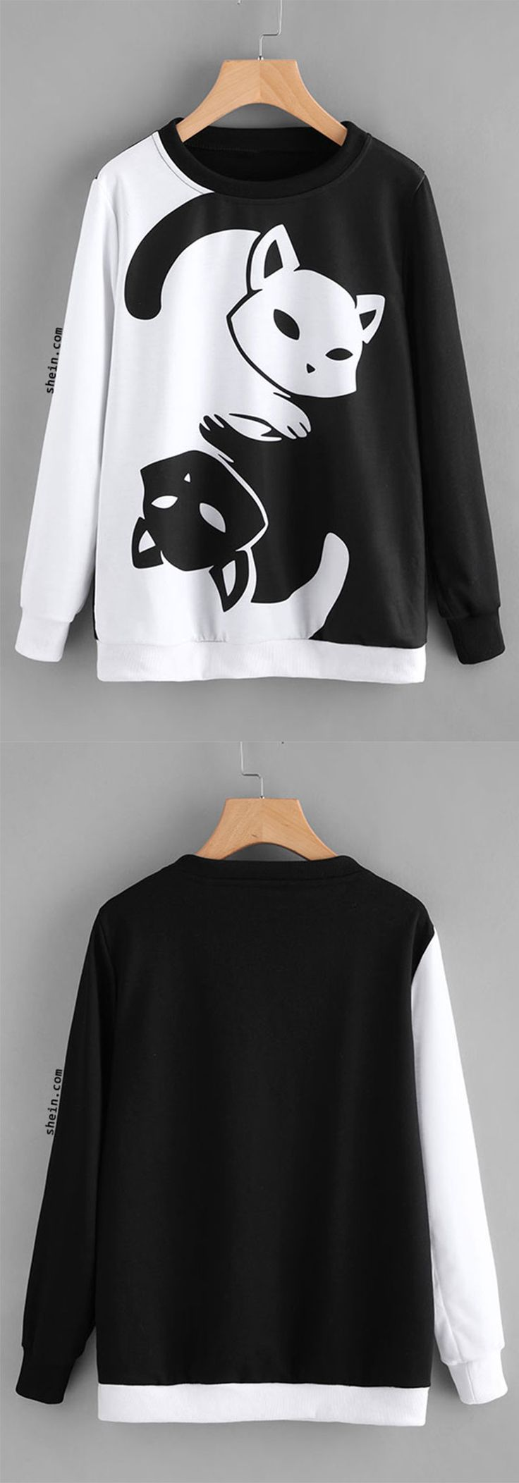 Unicorn Print Sweatshirt