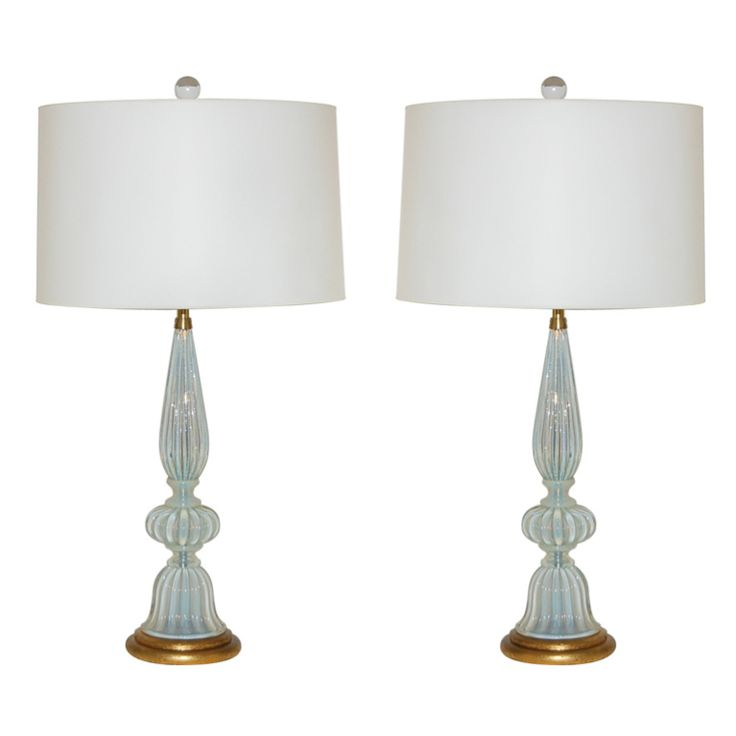Superior The Marbro Lamp Comany   Pair Of Vintage White Opaline Murano Lamps | From  A Unique
