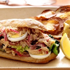 Tuna Nicoise Sandwiches | Sammies | Pinterest