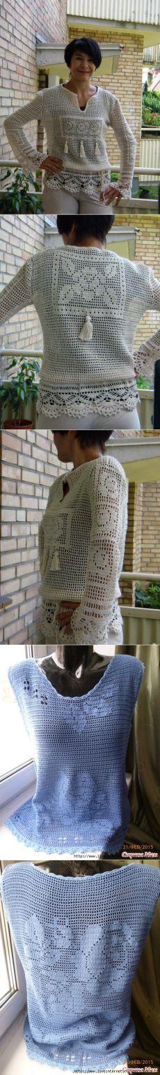филейное вязание | Записи в рубрике филейное вязание | Дневник Nechaeva_Olga