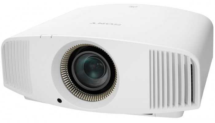 Sony VPL VW320ES Home Cinema Projector. The compact Sony VPL-VW320ES Home Cinema Projector fits neatly into any home theatre or living room, with low fan noise that won't disturb the show, wide zoom/lens shift range and a front-facing exhaust port for extra installation flexibility. White.