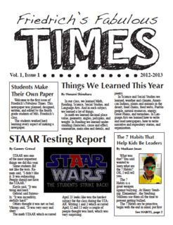 topics to write about for school newspaper software