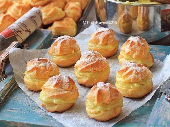 Resep Soes Vla Durian Durian Choux Yummy Oleh Tintin Rayner Resep Resep Resep Masakan Makanan Manis