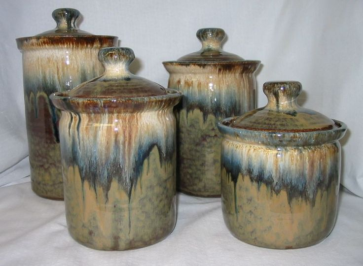 1000 images about pottery canisters cookie jars on