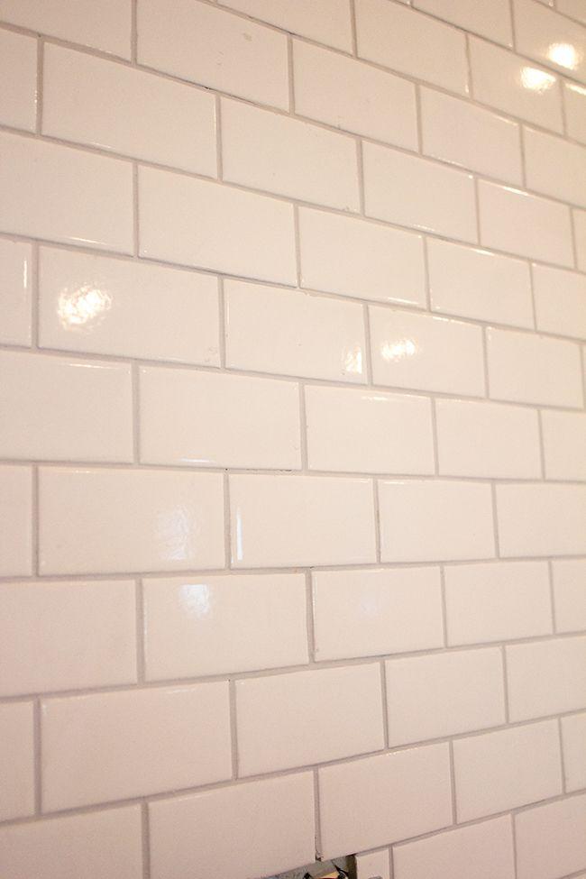 Kitchen chronicles a diy subway tile backsplash part 2 for Grout for backsplash tiles