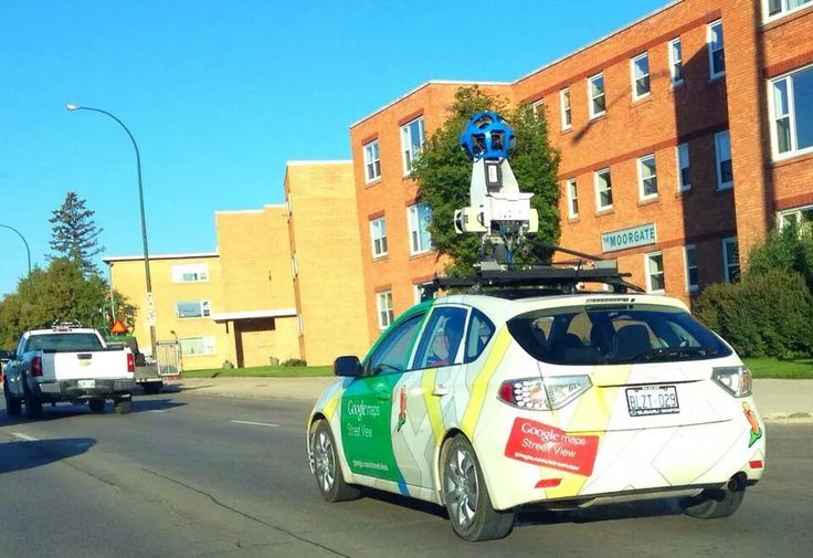 Google Maps camera at Portage. By Raman Job - 2014.