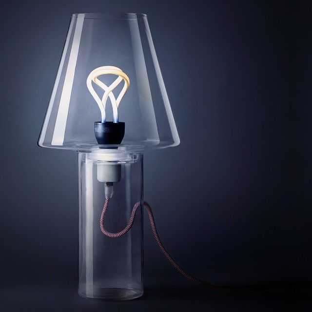 A modern twist on the traditional lampshade