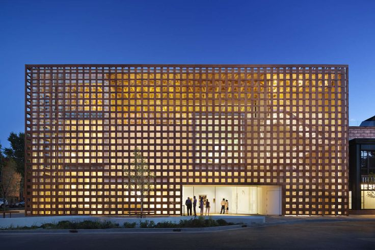 Aspen Art Museum by Shigeru Ban Architects and Dean Maltz Architect, Aspen, Colo., United States