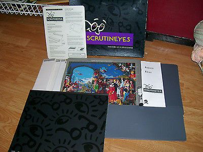 Scrutineyes Board Game Complete in original Box includes Answer Guide