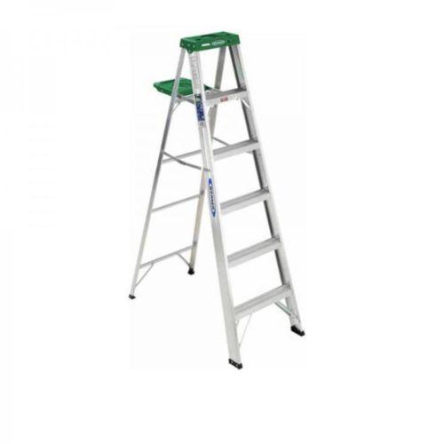 Ladder-Step-Aluminum-Stepladder-Shelf-Werner-Multi-Purpose-Scaffold-Areas-Around