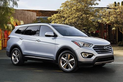 2017 Hyundai Santa Fe Limited Ultimate 4dr SUV Exterior Shown