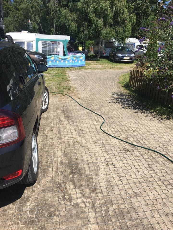 kratka G4 na campingu w Chałupach, Półwysep Helski
