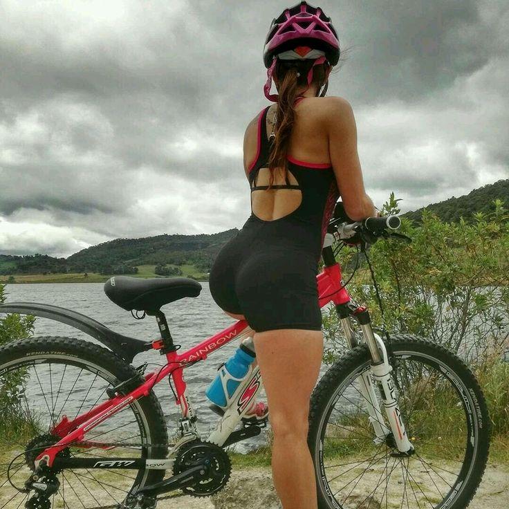 Busty mountain bike girls