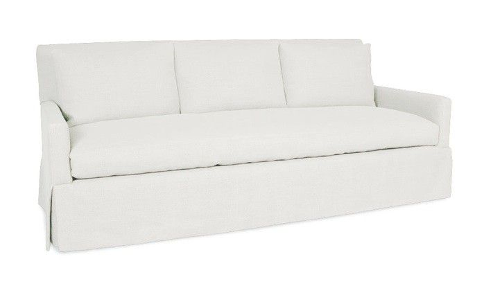 Lee Industries C3907-03 SLIPCOVERED SOFA