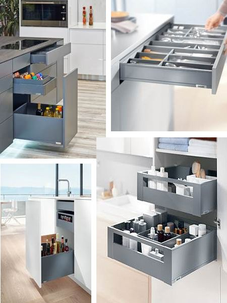 With its sleek slimline design, sophisticated motion technologies and elegant colour concept, LEGRABOX pure is designed by Blum to seamlessly match the aspirations and aesthetics of graceful modern living. http://www.easydiy.co.za/index.php/news-articles/598-the-perfect-drawer
