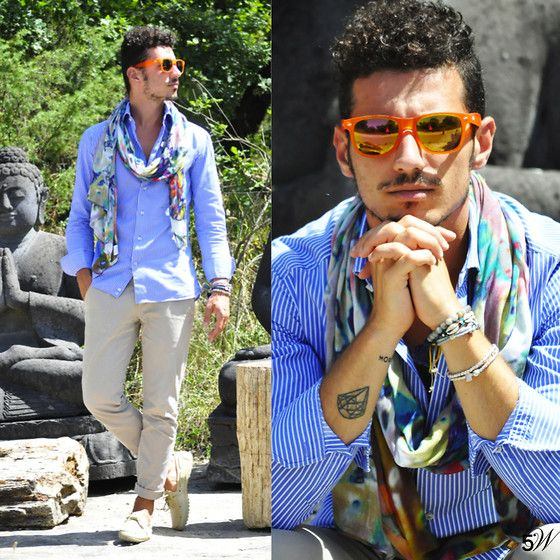 Frontrowsociety Scarf, Redele Sunglasses, Woz Shoes