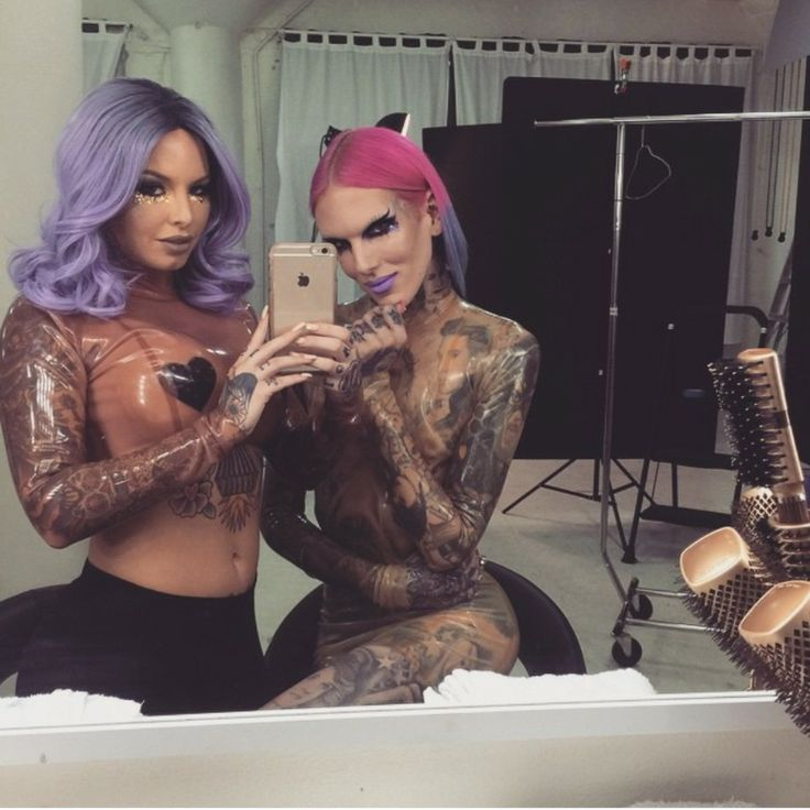 Getting hot backstage with my girl christy mack Jeffree Star