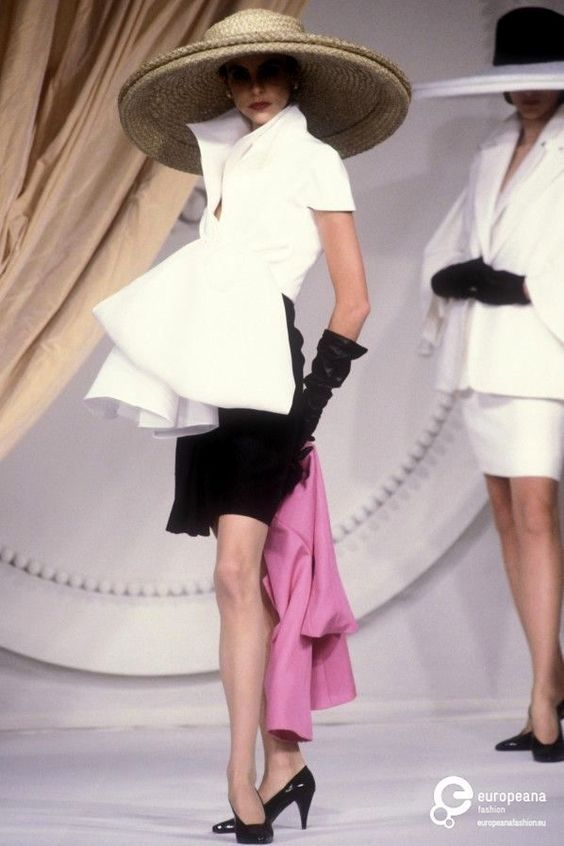 Dior Couture 1991 by Gianfranco Ferre