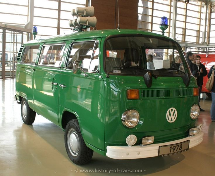 vw bus polizei classic vintage | vw 1973 t2 transporter bus polizei - the history of