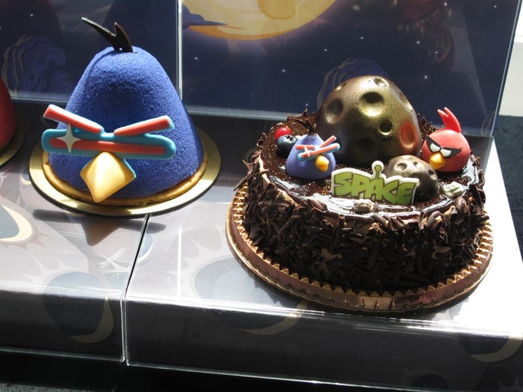 Android Birds Space Cake