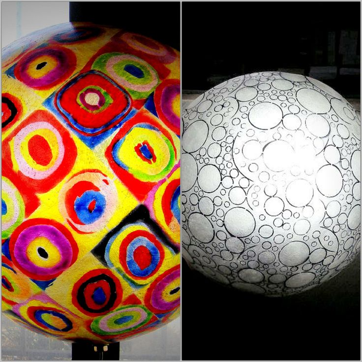 """They come in 2 design: """"B&W Circles"""" design and """"Klimt"""" design  In the photos you scan see the wall lamps lit using 20Watt bulbs. You can put as much wattage as you need in them, with no concerns. To view more photos, please copy and paste the links below:  For the """"B&W Circles"""" design Full Moon wall lamp: http://gshopspot.gr/product.php?product_id=715  For the """"Klimt"""" design Full Moon wall lamp: http://gshopspot.gr/product.php?product_id=714"""