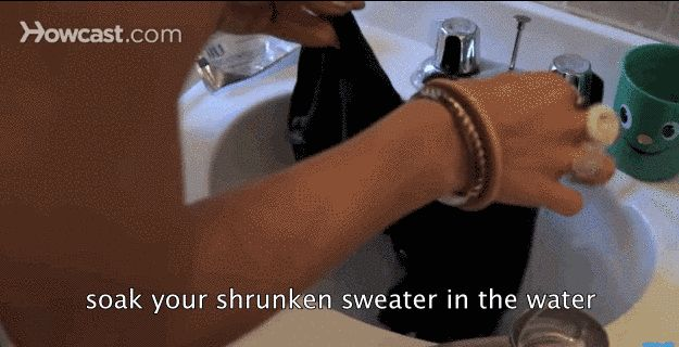 This Weirdly Genius Hack Will Actually Un-Shrink Your Clothes