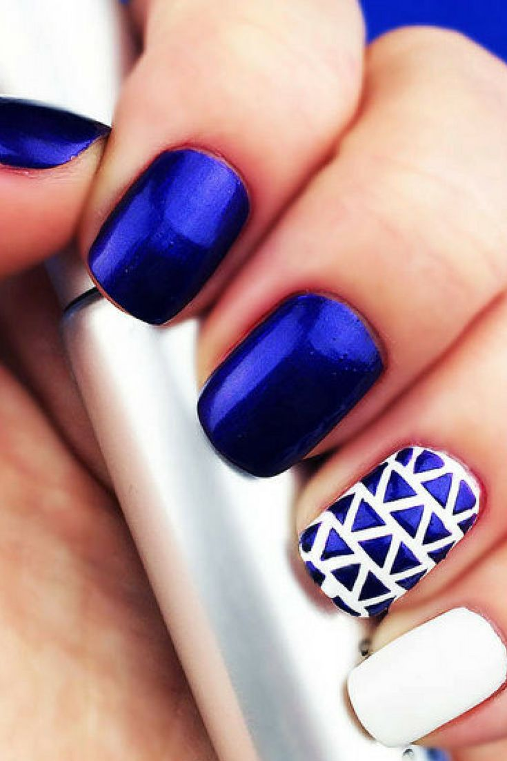 the 25+ best triangle nails ideas on pinterest | finger nails, one