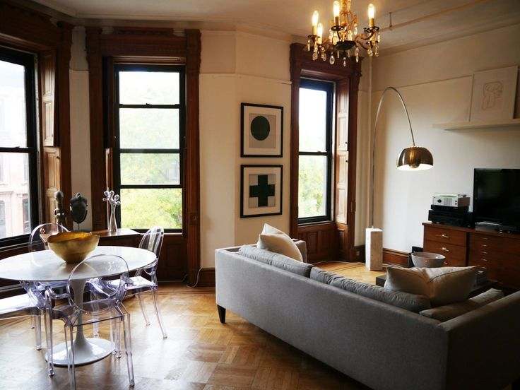 146 best images about my brownstone obsession on pinterest for Brownstone living room decorating ideas