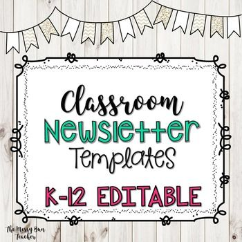 Best 25+ Class newsletter template ideas on Pinterest Parent - newspaper templates for kids