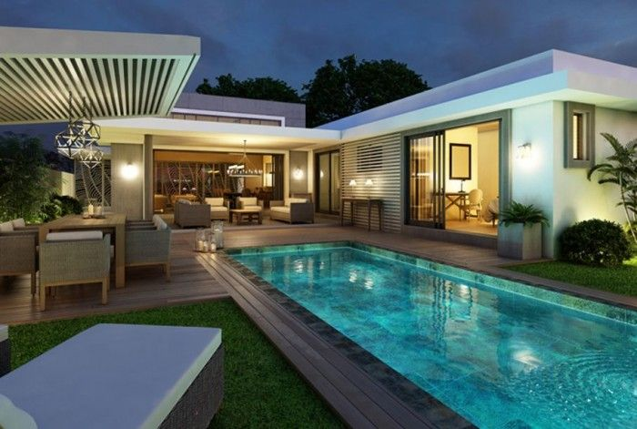 Luxury properties on the Mauritius Island