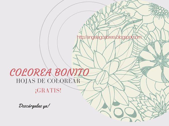 Actividades Manuales De Letrero Pergamino Del D繝箝a De La Madre Es: Más De 25 Ideas Increíbles Sobre Hojas Para Colorear En Pinterest