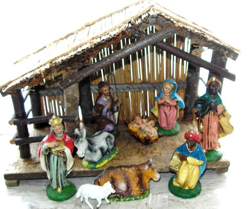 Living Nativity Ideas: 9 Best Images About Nativity Creche Ideas On Pinterest