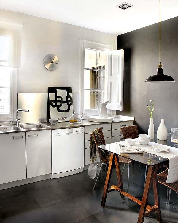 [Deco] Reforma con esencia clásica y fusión de estilos | Decorar tu casa es facilisimo.com