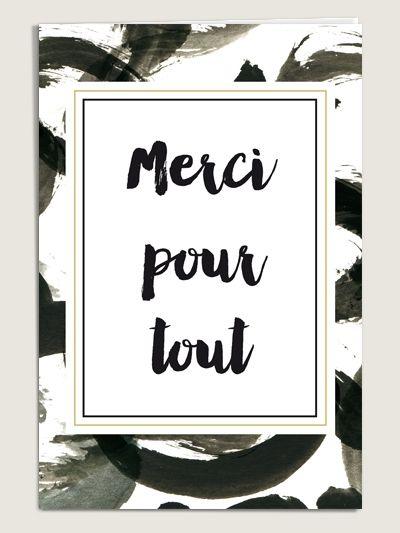 Carte de remerciement mariage Eléonore - www.dioton.fr
