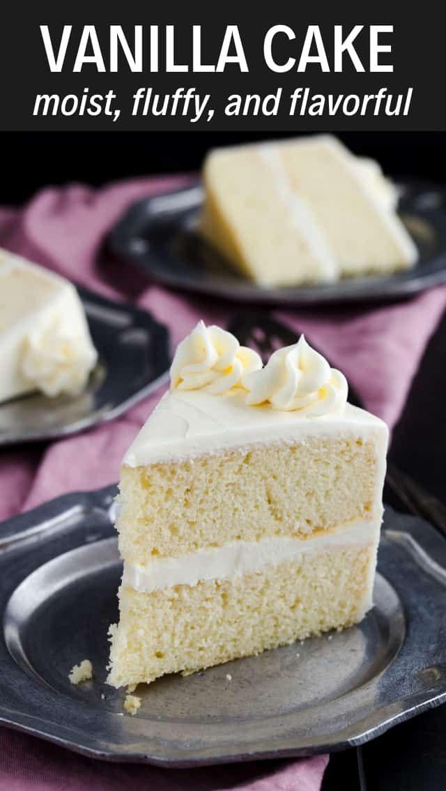 Grundlegender Vanille-Kuchen