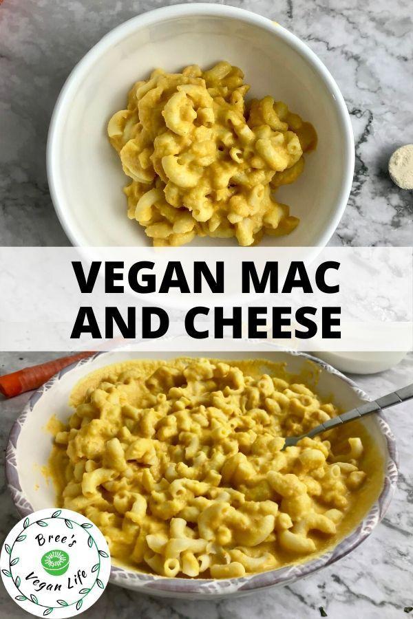 Vegan Mac And Cheese No Cashews Vegan Mac And Cheese Vegan Side Dishes Oil Free Vegan Recipes
