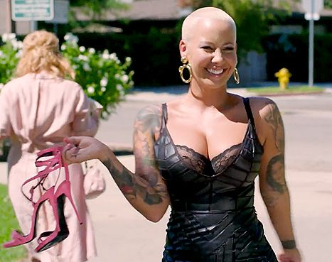 Amber Rose goes on a Walk of No Shame in Funny or Die's new video.