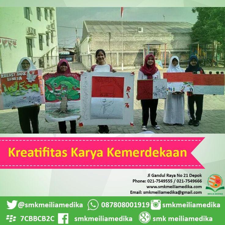 Bulan Merdeka #agustus #sekolah #menengah #kejuruan #smk #smkmeiliamedika #keperawatan #cinere #rsmeilia #cibubur #depok #cileungsi #bekasi #bogor #tangerang #jakarta #indonesia