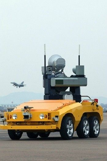 The World's First Bird Strike Defense Robot, Korean Atomic Energy Group, innovation, LIG Nex1, future robot