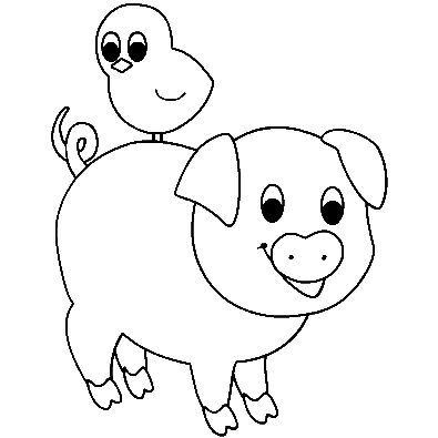 piglet coloring pages for kids archives coloring page piglets