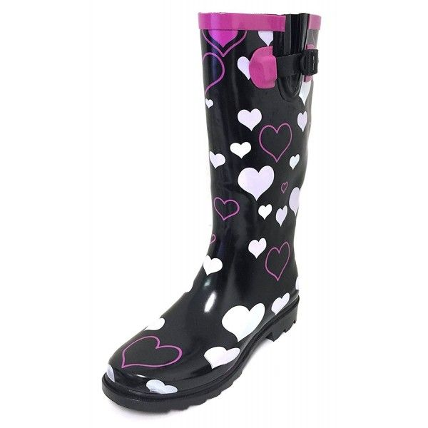 Wyre Valley Womens Black Wellingtons Wellies Muck Boots