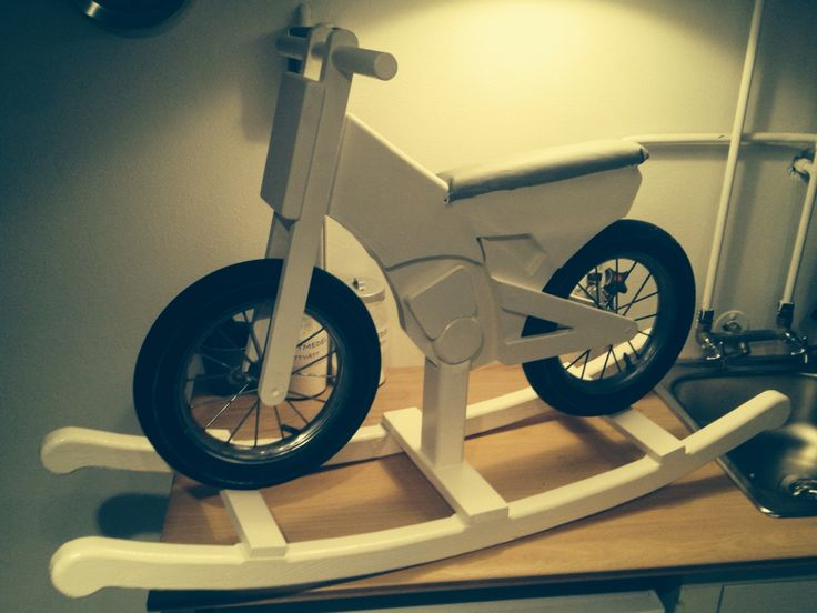 A wooden motorcykel for my son