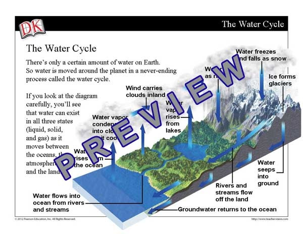 Project this science mini-lesson on your whiteboard to teach students about ocean and fresh water distribution. View it here: http://www.teachervision.fen.com/hydrology/mini-lesson/71860.html #science #watercycle #whiteboard
