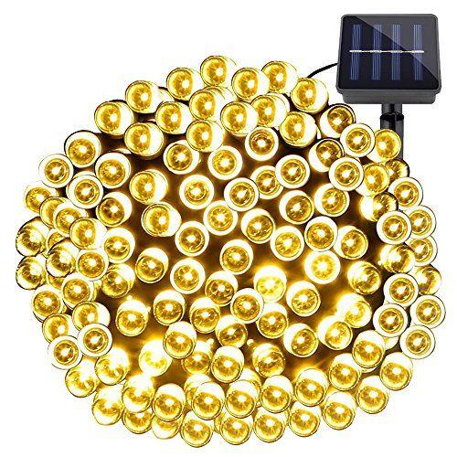 Les 25 meilleures id es de la cat gorie luminaire solaire sur pinterest eclipse solaire - Guirlande lumineuse exterieur 20m ...
