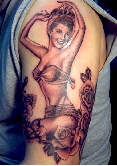 kat von d tattoos | High Voltage & LA INK: Miami Ink : Kat Von D Tattoo
