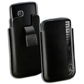 "HUSA MOMODESIGN MOMOSLLBK BLACK ""L"" PT. IPHONE4/4S/SAM ACE"
