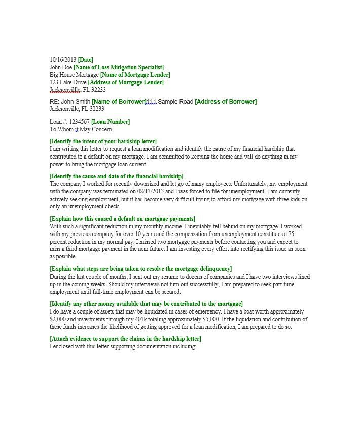 Hardship Letter Template 26 sherwrght@aol Pinterest - enclosed is my resume
