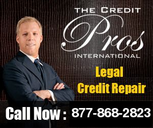 Call Now: 877-868-2823 - The Credit Pros Credit Repair and Education