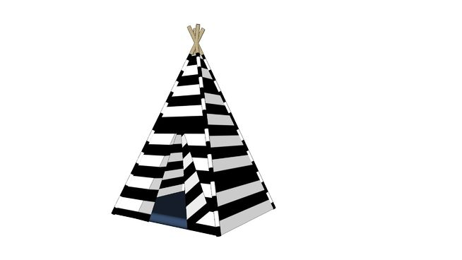 CHILDREN'S TEEPEE - 3D Warehouse